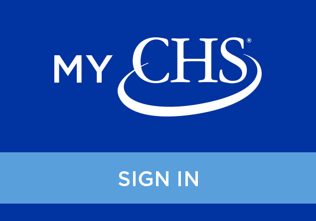 MyCHS Account Login